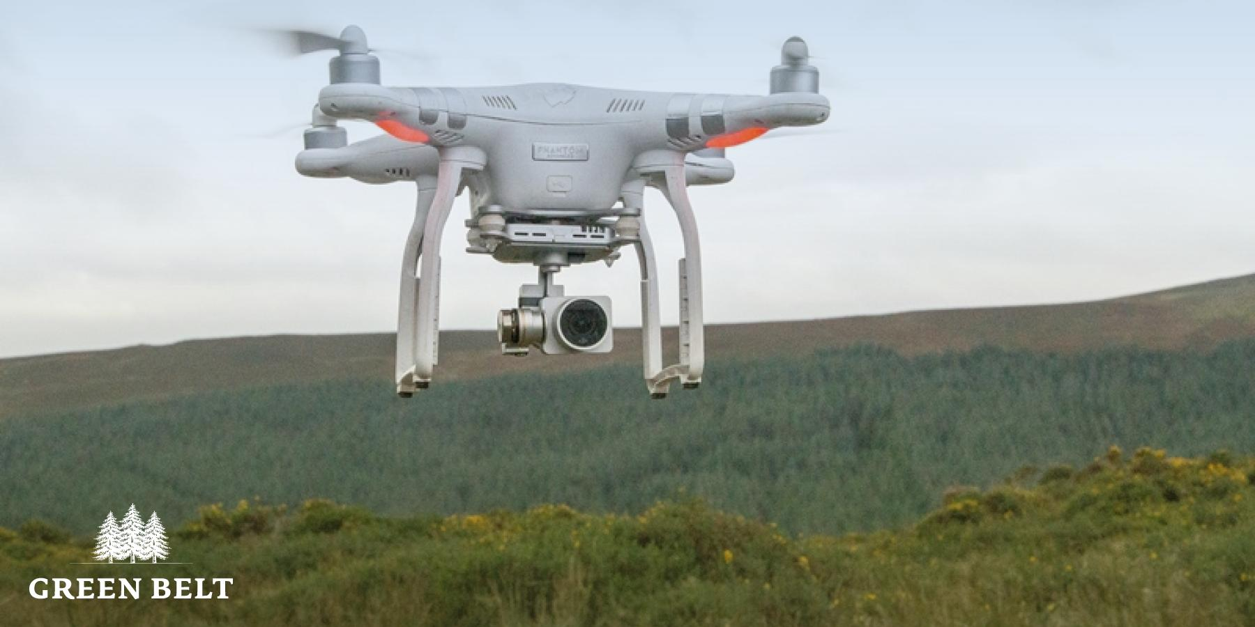 Drone Assessing Forestry